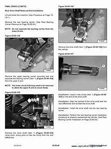 Bobcat 3450 Utility Vehicle Service Manual Pdf