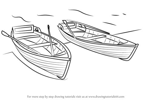 How To Draw A Boat Easy by Learn How To Draw Boats Boats And Ships Step By Step