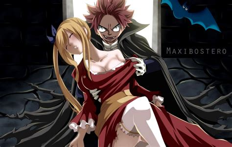 fairy tail natsu lucy wallpaper wallpapers nature