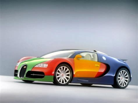 Nice Multi Colored Bugatti