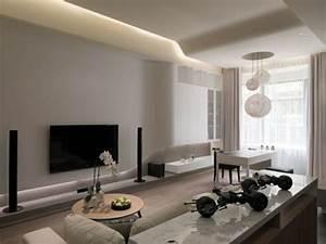 Moderne Wandfarben Für Wohnzimmer : 20 ideen f r moderne wohnzimmer einrichtung in neutralen farben ~ Sanjose-hotels-ca.com Haus und Dekorationen