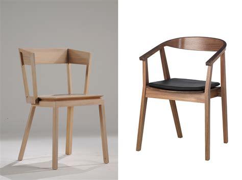 chaise en meuble en bois clair bois blond ou bois foncé la