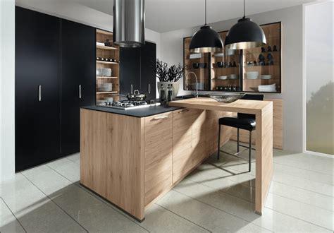 cuisine bois noir cuisine bois et noir agrandir une cuisine bois et blanc