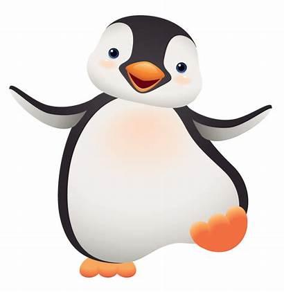 Clipart Penguins Colored Penguin Cartoon Transparent Clip