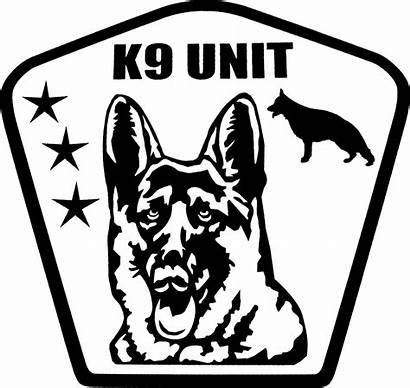 Decals Enforcement Law K9 Unit Activedogs