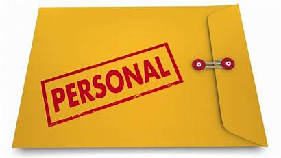 Personal Envelope Documents Yellow Clipart Stamped Illustration