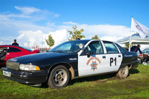 American Police Car Chevrolet Caprice Fourth Generation At