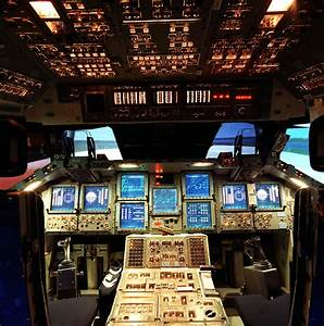 Space Shuttle Cockpit: Complete with Hex keypads [pic ...