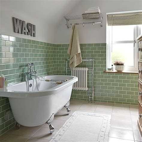 green tiles  pinterest  bathroom art deco