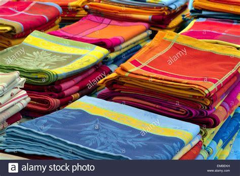 Franzosische Tischdecken by Tablecloths Stockfotos Tablecloths Bilder Alamy