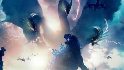 Godzilla Monsters King 4k Ghidorah Poster Posters