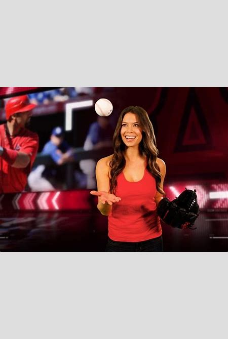 Angel girl: Manhattan Beach's Alex Curry becomes the face of the Los Angeles Angels