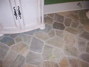 Classy 80 stone tile bathroom interior inspiration of 132 for How to install stone tile flooring