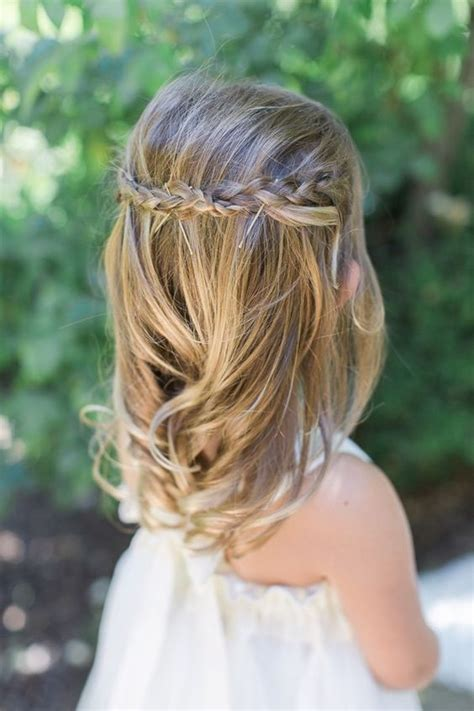 Latest Trend Of Wedding Hairstyle 2016 For Kids (4) Baby