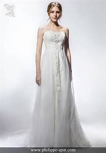 Robe Mariage 2018 : robes de mari e 2018 collection philippe apat mod les ~ Melissatoandfro.com Idées de Décoration