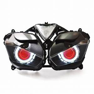 Kt Headlight For Yamaha Yzf R25 2015 2016 2017 Led Angel