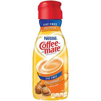 Nestle coffee mate original coffee creamers add a rich, velvety smooth, classic creamer flavor to your cup of coffee. Order Coffee-Mate Fat-Free Non-Dairy Creamer, Hazelnut | Fast Delivery