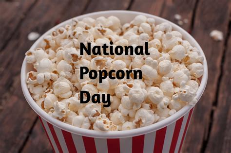 national popcorn day celebrated