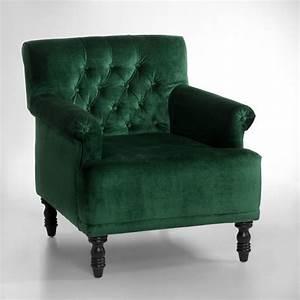 Fauteuil En Velours : 30 fauteuils qui n attendent que vous elle d coration ~ Dode.kayakingforconservation.com Idées de Décoration