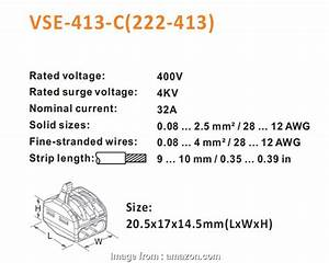 18 Gauge Wire In Mm2 Simple Wire Connector  Bestwo 222