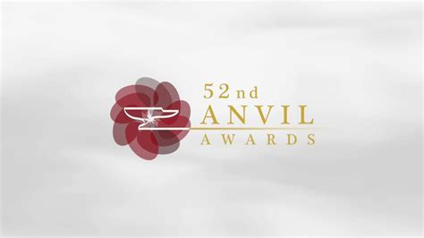 The 52nd Anvil Awards Youtube