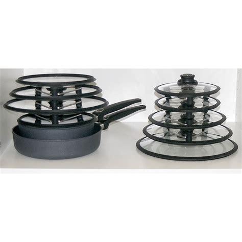lid pot pan organizer racks