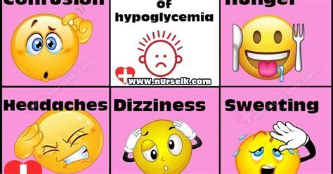 hypoglycemia symptoms nurselkcom