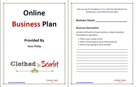 day   business plan template