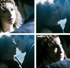 Doctor Who and River Song Kiss