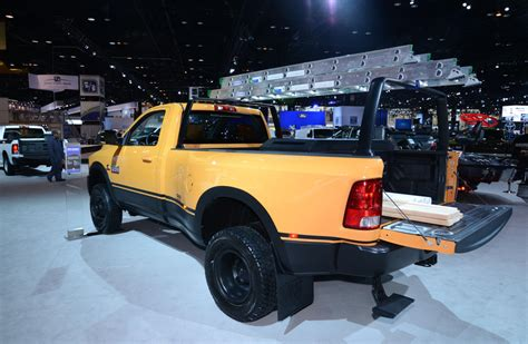 concept work truck ram 3500 dually case work truck shows up in chicago quot pics quot