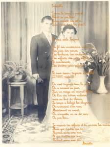 poã me mariage poème sur les noces de diamant mode blogs