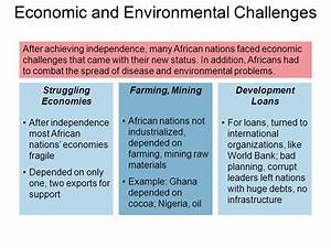 African Nations Gain Independence Main Idea After World ...