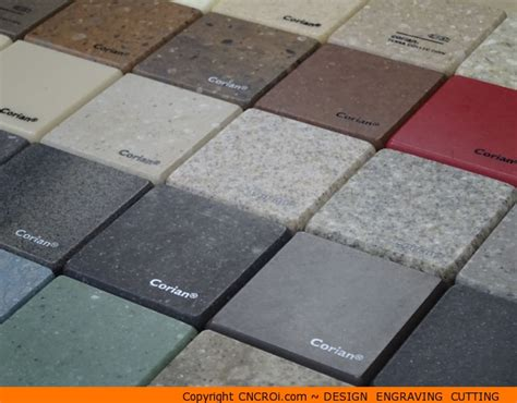 Corian Material Custom Corian Color Options