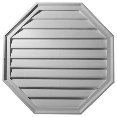 decorative gable vents home depot ekena millwork 2 1 8 in x 30 in x 30 in decorative
