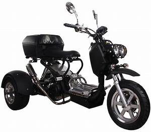 Ice Bear Viking 150cc Motor Trike Moped Scooter Pst150