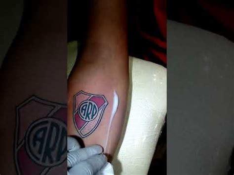 Tatuaje escudo River Plate YouTube