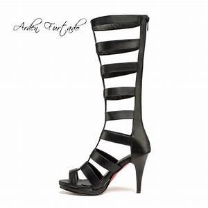Arden Furtado 2018 Summer Knee High Boots For Women High