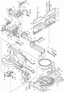 Spares For Makita Ls1016 Corded 260mm Sliding Compound