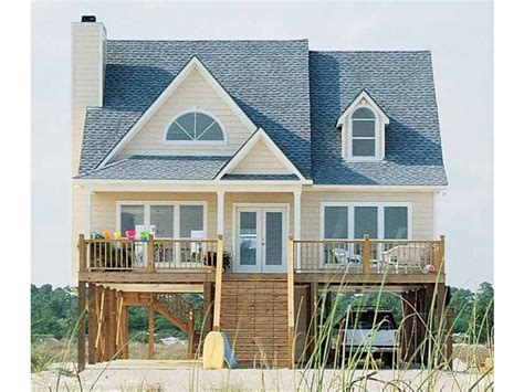 Beach House Plans for Homes On Pilings