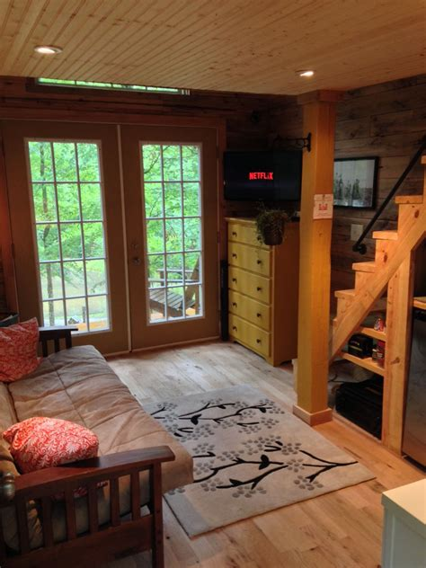 square foot tiny house   open feel   full time home idesignarch interior