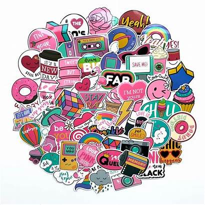 Stickers Sticker Fun Pack Toys Pink Pcs