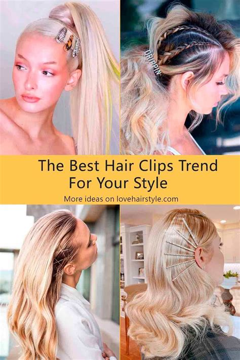 Popular Types Of Hair Clips & Ideas To Individualize Your