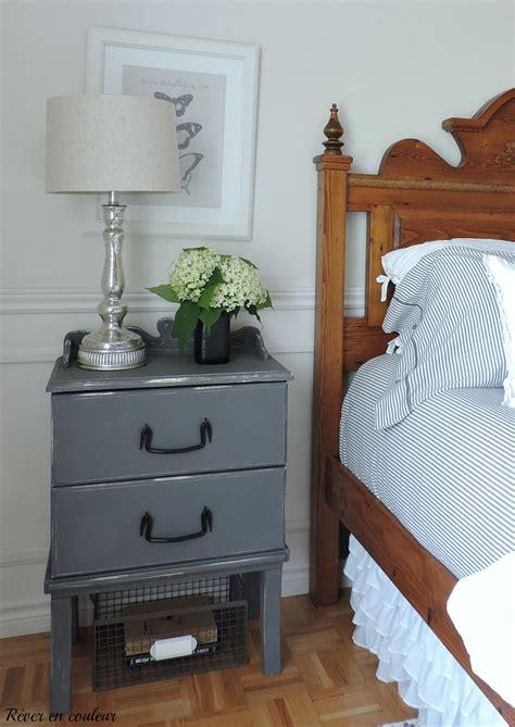 chambre de sablage la chambre à coucher en blanc et gris rêver en couleur
