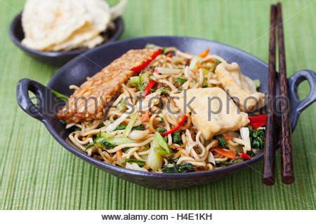 Indonesian Cuisine, Mie Goreng Or Traditional Fried