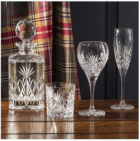 royal scot kintyre set de 2 cristal 313ml grand whisky gobelets verres ebay