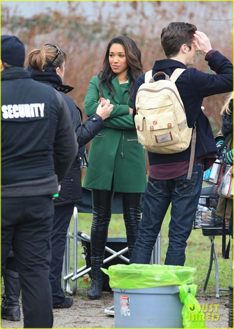 grant gustin candice patton film romantic scene