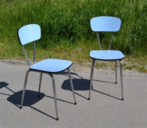 chaises formica mobilier vintage en formica le style populaire des ées 1960