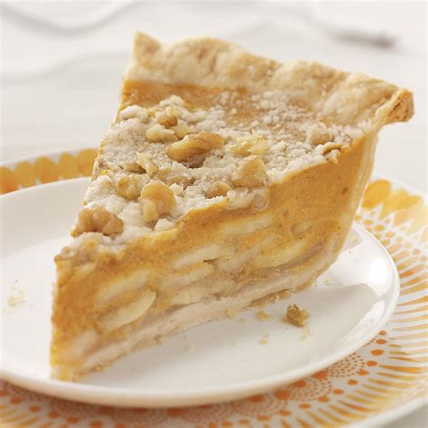Crumbtopped Apple & Pumpkin Pie Recipe  Taste Of Home