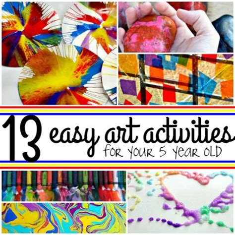 craft ideas for 13 year olds 13 easy activities for your 5 year 7534