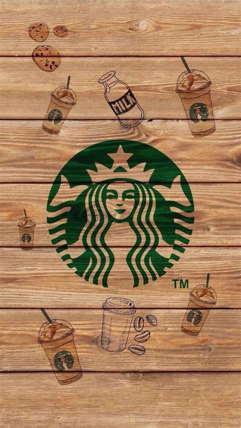Here are only the best cute food wallpapers. Stabucks | Coffee wallpaper iphone, Starbucks wallpaper, Coffee wallpaper